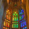 Stained Glass Windows - La Sagrada Familia