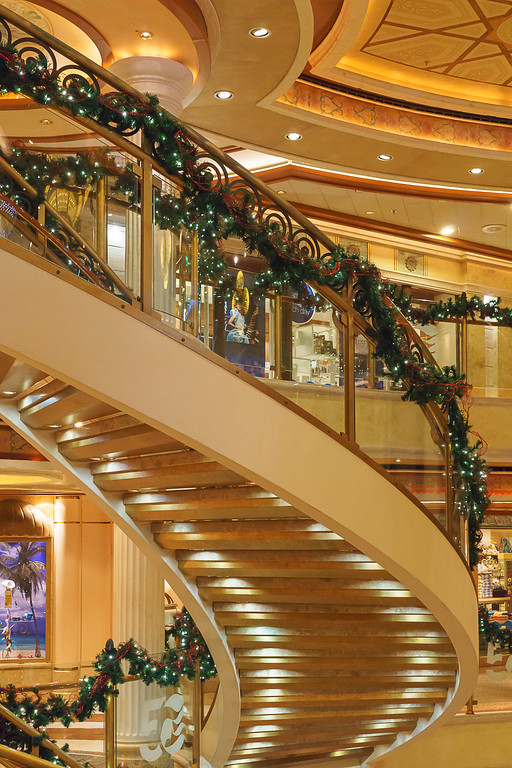 Curved Stairway